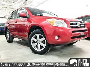 2008 Toyota RAV4 Limited 4WD 4 CYL / MAGS / TOIT / SUPER PROPRE