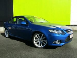 2011 Ford Falcon FG MK2 XR6T Blue 6 Speed Auto Seq Sportshift Sedan Underwood Logan Area Preview