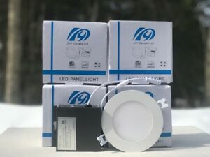 "Ottawa supply Tax free 4""9w /6""15w slim panel light&pot light"