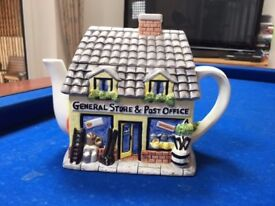 The Village Teapot Collectables - General Store & Post Office **GOOD CONDITION**