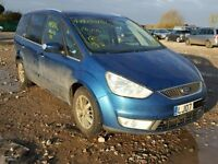 BREAKING FOR PARTS FORD GALAXY GHIA 2007 2.0 TDCI IN BLUE AMBITION