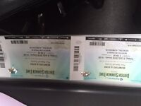 Mumford and Sons 2 xTickets 8/7/16 - general adm. Collection Stevenage - £100 for the pair