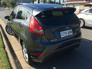 2011 Ford Fiesta WS Zetec Grey 4 Speed Automatic Hatchback West Hindmarsh Charles Sturt Area Preview