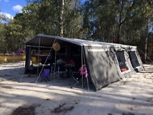 Ezytrail soft floor camper trailer with kids room Rosebud Mornington Peninsula Preview