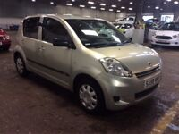 2008 DAIHATSU SIRION 1.0 S 5 DOOR HATCHBACK PETROL MANUAL CHEAP INSURANCE NOT KA CORSA AYGO 107 C1