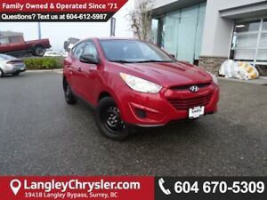 2013 Hyundai Tucson GL *ONE OWNER*LOCAL AWD  BC SUV*