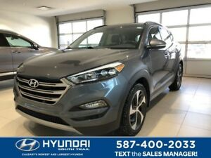2017 Hyundai Tucson LIMITED - AWD, Leather, Heated Front/Rear Se