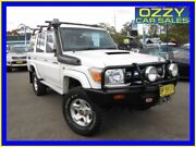 2011 Toyota Landcruiser VDJ76R 09 Upgrade GXL (4x4) White 5 Speed Manual Wagon Penrith Penrith Area Preview