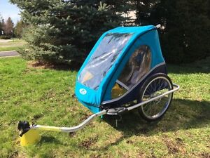 Remorque / chariot de vélo pour enfant