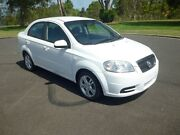 2011 Holden Barina TK White 4 Speed Automatic Sedan Ballina Ballina Area Preview