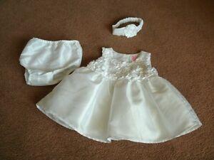 Christening Dress, Size 9-12 Mo.