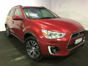 2015 Mitsubishi ASX XB MY15 LS 2WD Red 6 Speed Constant Variable Wagon Derwent Park Glenorchy Area Preview