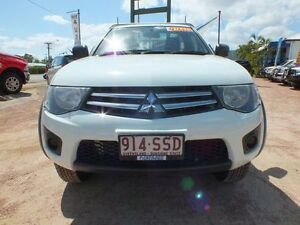 2012 Mitsubishi Triton MN MY12 GLX White 5 Speed Manual Utility Rosslea Townsville City Preview