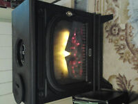 Electric Fireplace (forced air)
