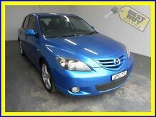 2004 Mazda 3 BK1031 SP23 Blue Manual Hatchback Blair Athol Campbelltown Area Preview