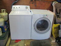 Whirlpool washer & dryer (higher end)