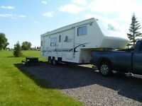 2001 28.5 foot Corsair 5th wheel