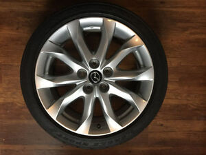"Mazda 3 18"" Alloy Rims wheels with All season Tires"