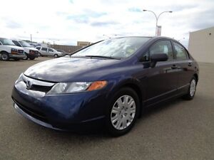 2007 Honda Civic 4 DR Sedan | 5sp Manual | Comfortable & Economi Edmonton Edmonton Area image 2
