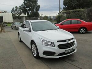 2016 Holden Cruze JH MY16 Equipe White 6 Speed Automatic Sedan Epping Whittlesea Area Preview