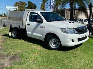 2015 Toyota Hilux KUN16R MY14 SR 4x2 5 Speed Manual Cab Chassis Wangara Wanneroo Area Preview