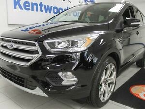 2017 Ford Escape Titanium 4WD ecoboost with leather, NAV, sunroo