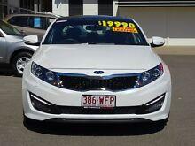 2011 Kia Optima TF MY12 Platinum White 6 Speed Sports Automatic Sedan Garbutt Townsville City Preview