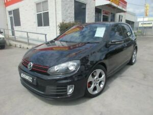 2011 Volkswagen Golf VI MY12 GTi Black 6 Speed Manual Hatchback