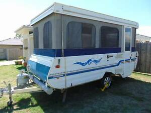 1999 GOLDSTREAM GOLDCROWN WIND UP CAMPERTRAILER L/WEIGHT 910KG Burpengary Caboolture Area Preview