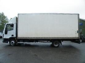 2007 Iveco Eurocargo 7.5 ton Box Van
