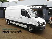 2014 Mercedes-Benz Sprinter 313 2.2CDi 129ps MWB High Roof E/PACK Diesel white M