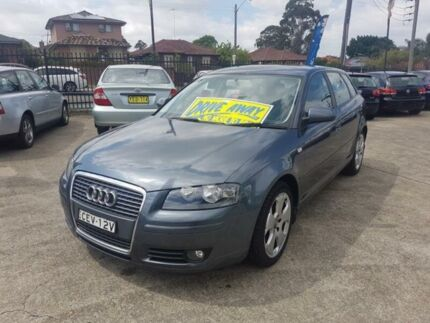 2006 Audi A3 8P Ambition Grey Auto Sports Mode Hatchback