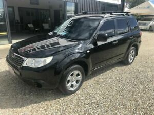 2009 Subaru Forester S3 MY09 X Black 4 Speed Automatic Wagon Arundel Gold Coast City Preview