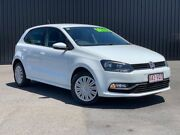 2015 Volkswagen Polo 6R MY15 66TSI DSG Trendline Pure White 7 Speed Sports Automatic Dual Clutch Bungalow Cairns City Preview