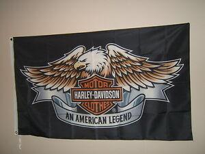 NEW Outdoor/indoor Harley Davidson Flag's / sign