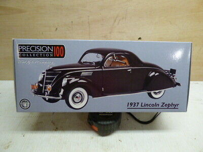 Precision 100 Collection 1937 Lincoln Zephyr 1:18 Ford Motor Co Die Cast Replica