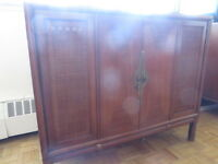 Vintage furniture pieces asian style