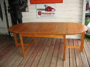 Large Solid wood kitchen table