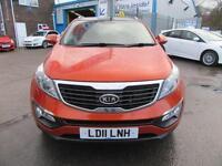 2011 11 KIA SPORTAGE 1.7 CRDI 3 5D 114 BHP DIESEL
