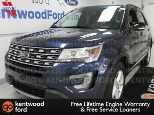 2017 Ford Explorer XLT 4WD, NAV, sunroof, heated power leather s