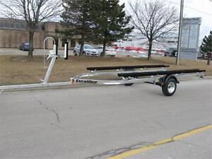 Pontoon Boat Trailer - 2700lb Capacity up to 21 ft.