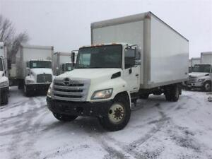 2013 Hino 268 24ft Dryfreight Box w/ Liftgate