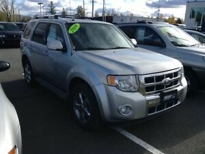 2010 Ford Escape Limited 3.0L, AUTOMATIQUE, A/C, 4X4, TOIT