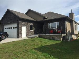 AMAZING FULLY DEVELOPED HOME WITH A GREAT VIEW IN BEAVERLODGE