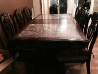 Marble & Mahogany Price Reduced - Moving Must Sell