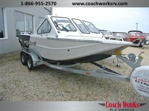 Shallow water jet boat. Tough as nails