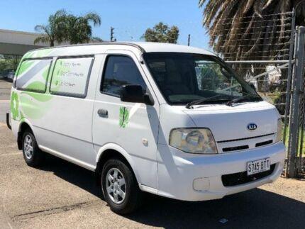 2004 Kia Pregio White Manual Van