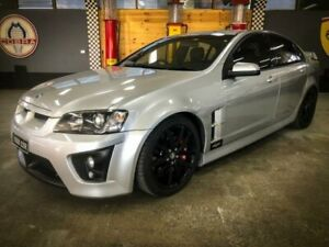 2009 Holden Special Vehicles ClubSport E Series MY08 Upgrade R8 Silver 6 Speed Manual Sedan