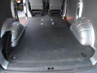 VW Transporter T5 Kombi floor mat. Flooring, sound deadening. Rubber mat. SWB