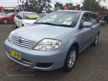2005 Toyota Corolla ZZE122R Ascent 4 Speed Automatic Wagon Lansvale Liverpool Area Preview